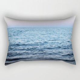 At Rest - a sunset Rectangular Pillow