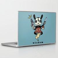 hindu Laptop & iPad Skins featuring Wisdom by Eric Wirjanata