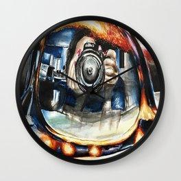 Lenses Wall Clock