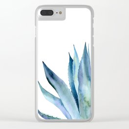 Agave plant. Clear iPhone Case