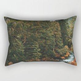 McKenzie River Trail - Blue Pool Rectangular Pillow