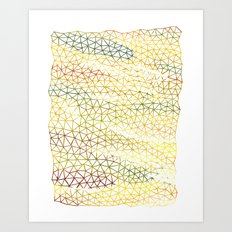 Marks Art Print