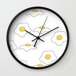 Breakfast Omelet (Eggs) Wall Clock