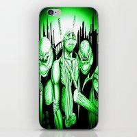 ninja turtles iPhone & iPod Skins featuring  Ninja Turtles by shannon's art space