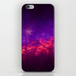 Painted Clouds Vapors I iPhone Skin