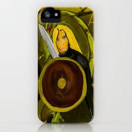 Shield Maiden iPhone Case