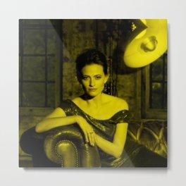 Lara Pulver - Celebrity (Photographic Art) Metal Print