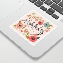 Pretty Swe*ry: Absofuckinlutely Sticker