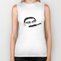 marx Biker Tanks featuring Groucho Marx Knit. by littlehomesteadco