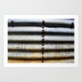 Silo Art Print