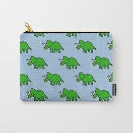 Cute Triceratops pattern Carry-All Pouch