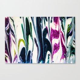 GLITTER VOMIT  Canvas Print