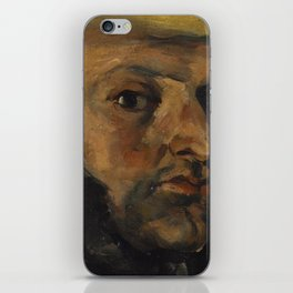 Gustave Boyer in a Straw Hat iPhone Skin
