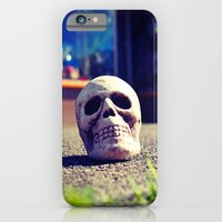 Sidewalk skull iPhone 6s Slim Case