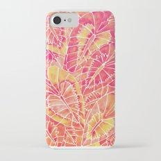 Schismatoglottis Calyptrata – Pink/Peach Palette iPhone 7 Slim Case