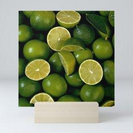 Limes Lemon Fruits Mini Art Print