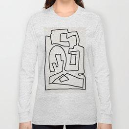 Abstract line art Long Sleeve T-shirt