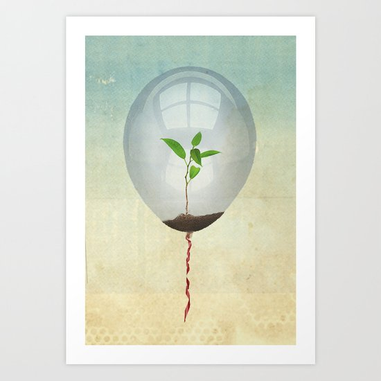 micro environment Art Print