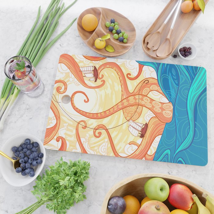 The Fisherman Cutting Board