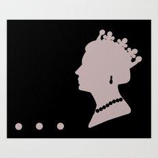 Queenie 25 Art Print
