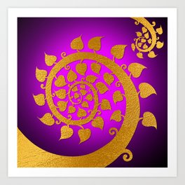 Bodhi Tree0606 Art Print