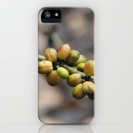 Illustration Coffee Beans iPhone Case