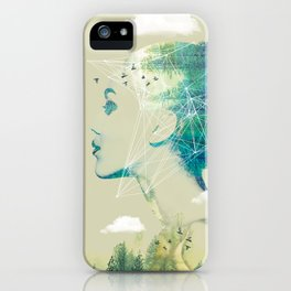 Geo Forest iPhone Case
