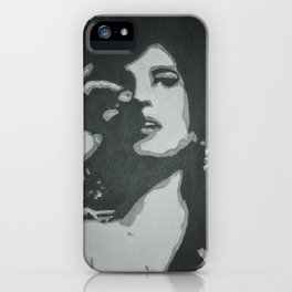 Back To Black iPhone Case
