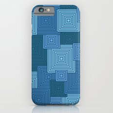 Blue Platformer iPhone 6s Slim Case