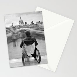 Invisible, Millennium Bridge, London Stationery Cards