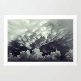 With Its power! Art Print