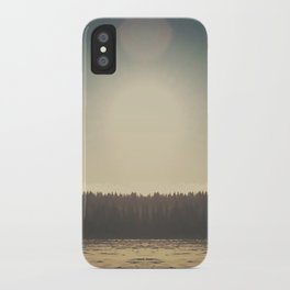 Frozen Reflection iPhone Case