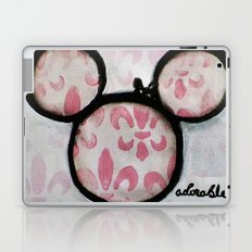 Adorable Mouse Fleur de lis Painting Laptop & iPad Skin
