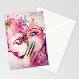 Piercing the Soul Stationery Cards