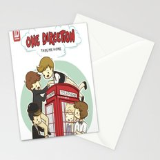 Take Me Home Cartoon One Direction Stationery Cards