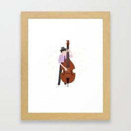 Jazz Musician Jazz Band Lover Framed Art Print