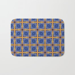 Sunset Sky Tiles Bath Mat