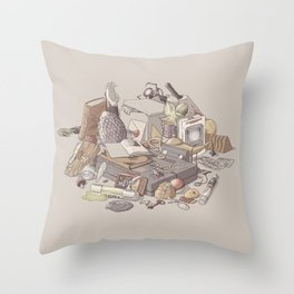 Choose Your Own Adventure Throw Pillow