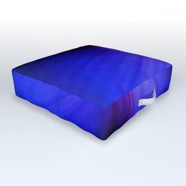 Blue Infinity Outdoor Floor Cushion