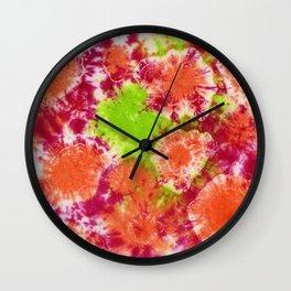 Mango Mushrooms Wall Clock