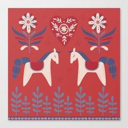 Swedish Christmas 2 Canvas Print