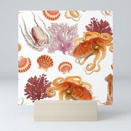 Color Marine Pattern 09 Mini Art Print