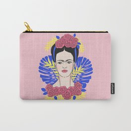 Tribute to Frida #1 Carry-All Pouch