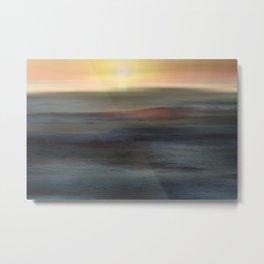 Daybreak  over the Ocean Metal Print