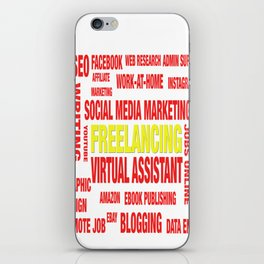 Online Jobs Design iPhone Skin