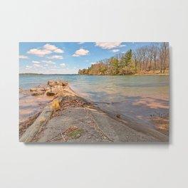 Wellesley Island Coastal Scenery Metal Print
