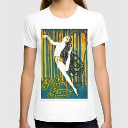 1925 Gilda Gray New York City Jazz Age Caberet Poster T-shirt