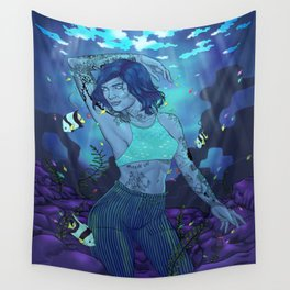 Submerge Wall Tapestry