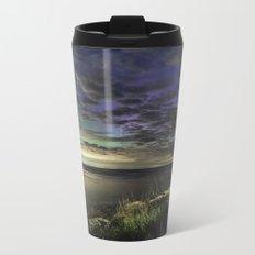 Peek-a-boo Aurora at Folly Cove Metal Travel Mug