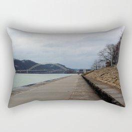Three Rivers Rectangular Pillow